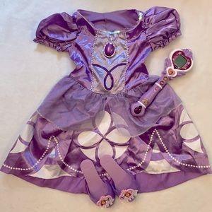 Disney Jr. Sofia the First Princess Dress Up Set